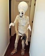 Hauntingly Memorable Alien Homemade Costume