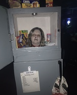 Head in a Freezer Homemade Costume