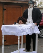 Illusion costume ideas - Head on a Platter homemade costume