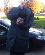 Headless Boy Homemade Costume