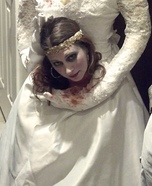 Women's Headless Bride Costume