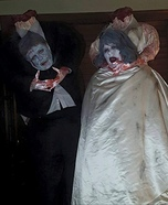 Headless Bride and Groom Homemade Costume