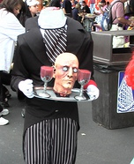 Homemade Headless Butler costume