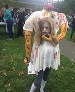 Headless Child Homemade Costume