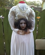 Headless Ghost Girl Homemade Costume