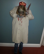 Headless Girl Illusion Halloween Costume