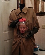 Children's Headless Man Costume