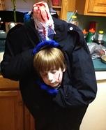 Headless Kid Homemade Costume
