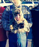 Headless Scarecrow Homemade Costume