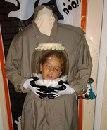 Headless Trick-or-Treater Homemade Costume