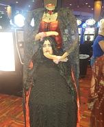 Headless Vampire Homemade Costume
