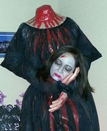 Headless Widow Homemade Costume