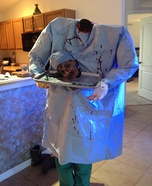 Headless Zombie Doctor Homemade Costume