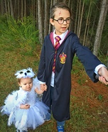Hedwig and Harry Potter Homemade Costume