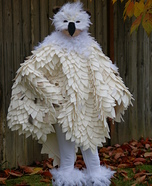 Hedwig the Snowy Owl Homemade Costume