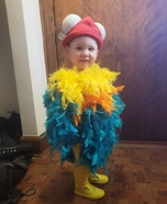 Hei Hei Homemade Costume