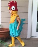 Hei Hei Rooster from Moana Homemade Costume