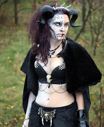 Hel: Norse Goddess of Death Homemade Costume