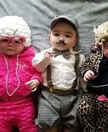 Helen, Harry, & Harriett Homemade Costume