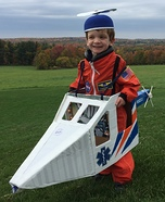 Helicopter Pilot Homemade Costume