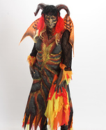 Hellion Demon Homemade Costume