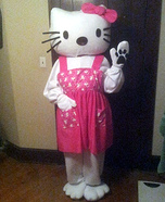 DIY Hello Kitty Costume