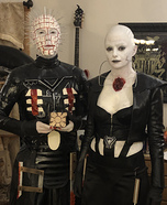 Hellraiser Couple Homemade Costume
