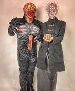 Hellraiser Pinhead and Chatterer Homemade Costume