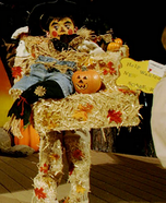 Help Wanted New Scarecrow Homemade Costume