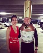 Henny and Coke Couple Costume