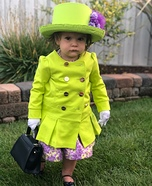 Her Majesty the Queen Homemade Costume