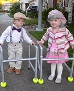 Herbert and Hilda Homemade Costume