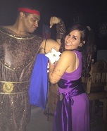 Hercules and Megara Homemade Costume