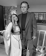 Herman and Lily Munster Homemade Costume