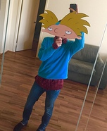 Hey Arnold! Homemade Costume