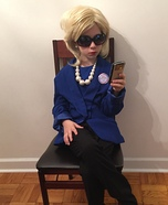 Hillary Clinton Homemade Costume