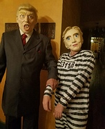 Hillary goes to Jail Homemade Costume