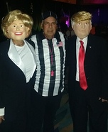Hillary, Trump and Referee Homemade Costume