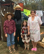 Hillbilly Holler Homemade Costume