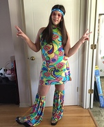 Hippie Homemade Costume