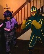 Hitgirl and Kickass Homemade Costume