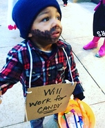 Hobo Baby Halloween Costume Idea