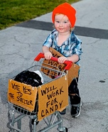 Hobo Baby Homemade Costume