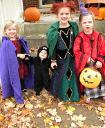 Hocus Pocus Kids Halloween Costume