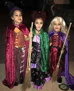 Hocus Pocus Homemade Costume