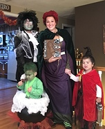 Hocus Pocus Family Homemade Costume