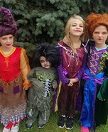 Hocus Pocus Kids Homemade Costume