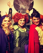Group costume ideas - Hocus Pocus Sanderson Sisters Halloween Costumes