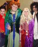 Hocus Pocus Sanderson Sisters and Billy Butcherson Homemade Costume