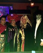 Hocus Pocus Sanderson Sisters & Billy Costumes